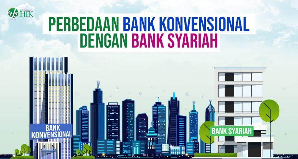 Perbedaan Dasar Bank Konvensional dengan Bank Syariah